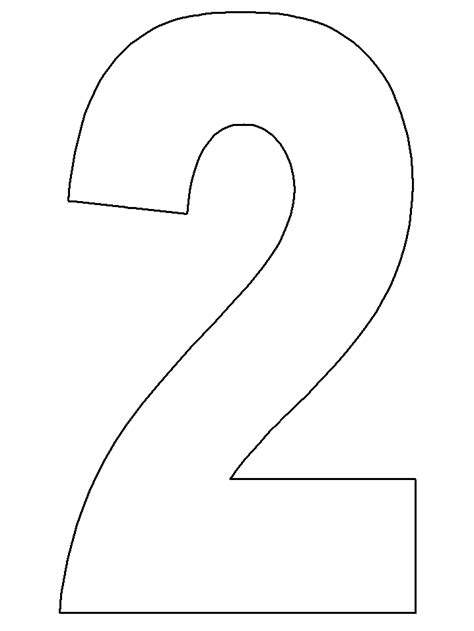 template number template printable number cakes number