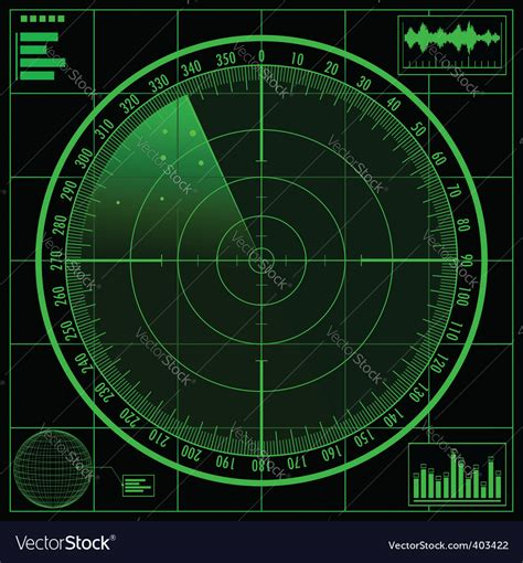Better decisions start with better weather. Radar screen Royalty Free Vector Image - VectorStock