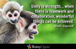 COMMUNICATION Q... Strength And Teamwork Quotes