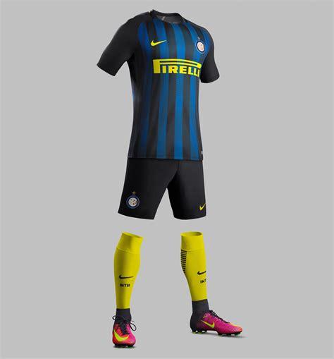 Inter Milan 16-17 Home Kit Released - Footy Headlines