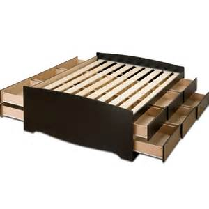 simple platform bed with drawers woodworking workbench projects