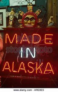 Native American American Indian neon sign above the West