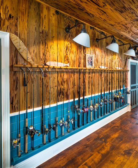 fish camp eclectic garage  shed tampa  epoch solutions