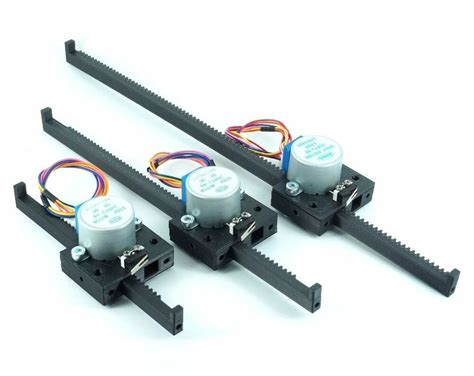 Linear Electric Motor by Linear Actuator Stepper Motor 4 Arduino Driver Raspberry
