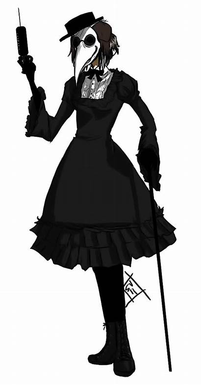 Plague Doctor Costume Female Lolita Halloween Mask