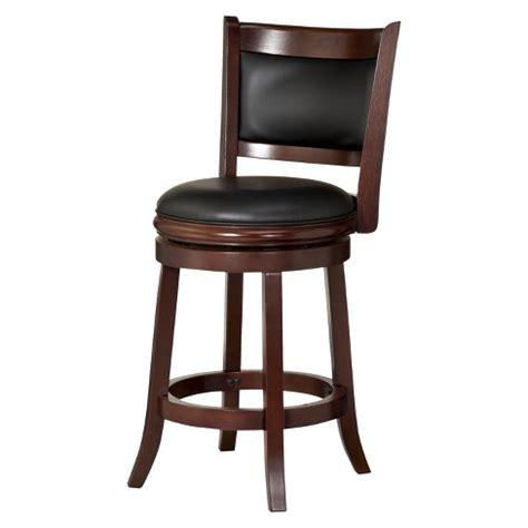 Target Swivel Bar Stools - augusta swivel 24 quot counter stool hardwood boraam target