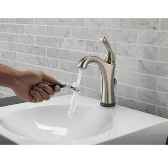 delta 592t dst chrome addison single hole bathroom faucet