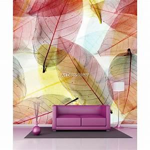 Papier Peint Geant : papier peint g ant feuilles d 39 automne 11037 stickers ~ Premium-room.com Idées de Décoration