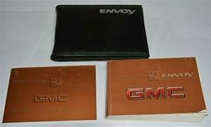 1999 Gmc Envoy Owners Manual Guide Book Set With Case Oem
