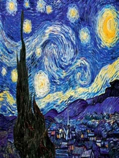 starry night painting wallpaper gallery