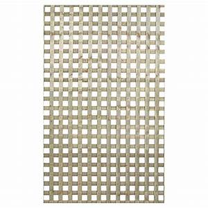 "Lattice - ""Square privacy"" Press -Treated Lattice RONA"