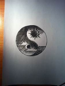 Drawn moon realistic - Pencil and in color drawn moon ...