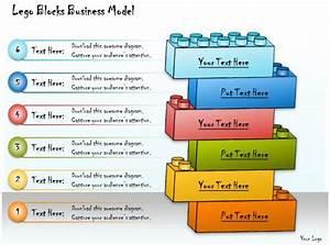 1013 Business Ppt Diagram Lego Blocks Business Model