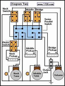 Dpdt Switch Pickup Selecter Guitar Guitar Pickup Wiring