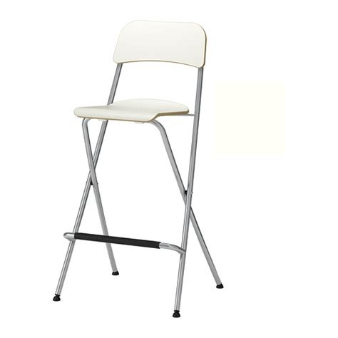 chrome folding bar stool breakfast kitchen high 90cm chair