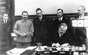 Image result for Britain and the Soviet Union signed a mutual aid pact,
