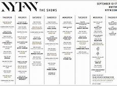 fashion week dates 2015 2016 2017 2018 new york mercedes