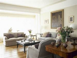 awesome exemple de coueleur peinture salon beige canaps et With tapis de marche avec canapé blanc cassé