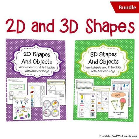 shapes worksheets bundle printables worksheets