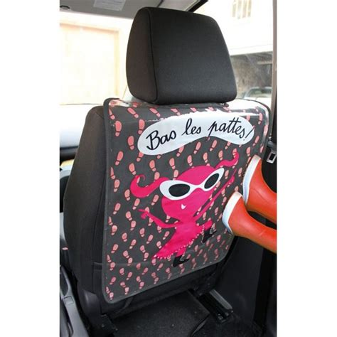 protege siege de voiture protège dossier siège voiture original fille zigoniric