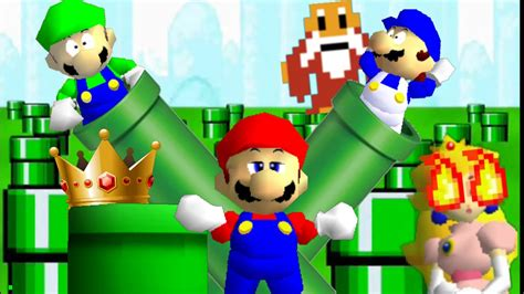 Super Mario 64 Bloopers Problematic Pipe Problems Youtube
