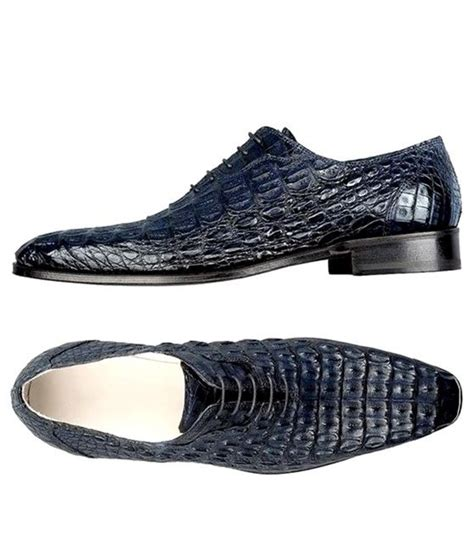 Genuine Crocodile Leather Shoes Alligator