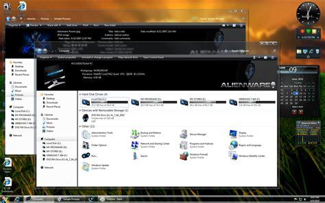 Windows 7 Alienware Low Life High Tech
