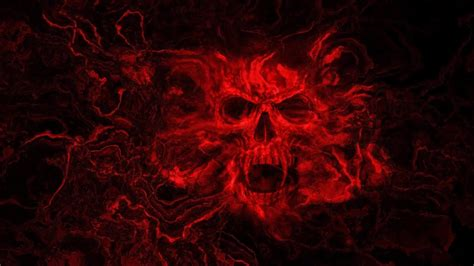 bloody skull horror  wallpaper desktophut
