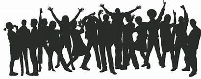 Party Crowd Transparent Parties Pngmart