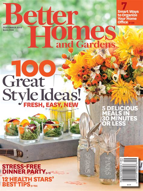 better homes and gardens better homes and garden 1 free year subscription