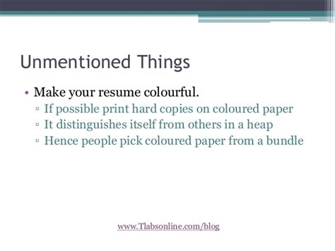 How To Make Your Resume Sound Better by Make Your Resume Stand Out