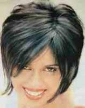 flattering hairstyles  double chins haircuts