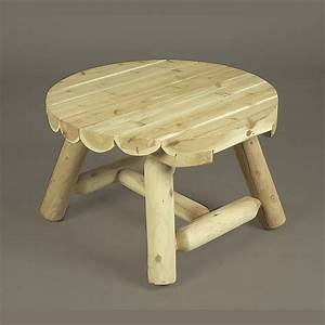 small round log coffee table the rocking chair company With round log coffee table