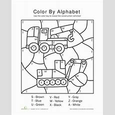 Alphabet Color By Number  Color By Number For Adults And Children  Coloring Worksheets For