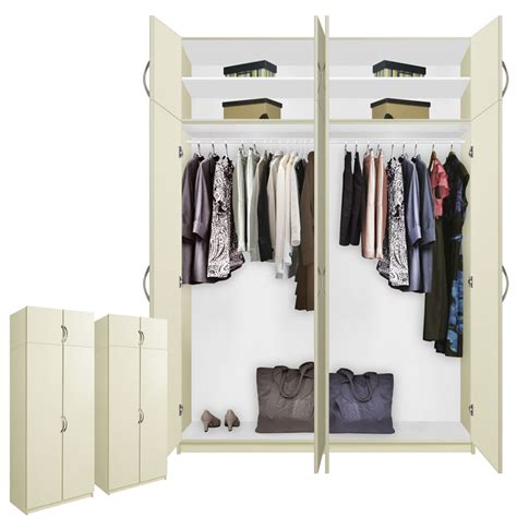 freestanding closet rods