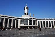 China Tianjin Train Station