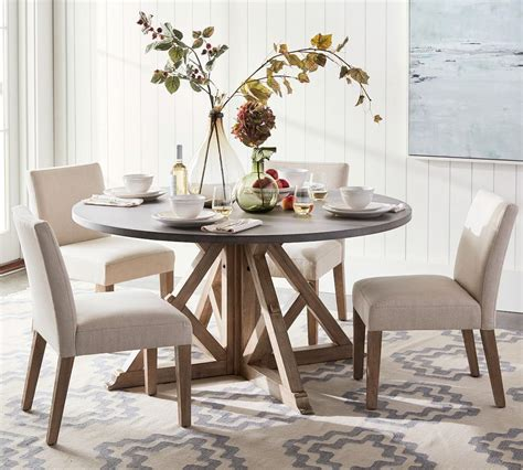 brooks  dining table pottery barn ca