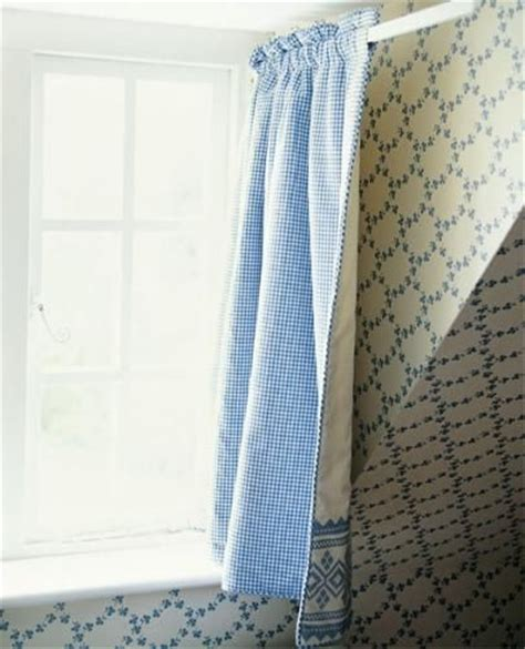 hinged rod curtain clever for small spaces sew in