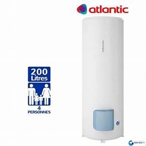 Atlantic Zeneo 200l : chauffe eau electrique 200l atlantic z n o vertical sur socle ~ Premium-room.com Idées de Décoration