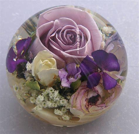 wedding flower paperweights   flower