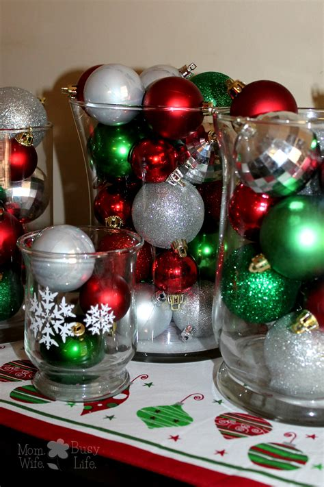 Quick And Easy Christmas Decorations  Mom Wife Busy Life