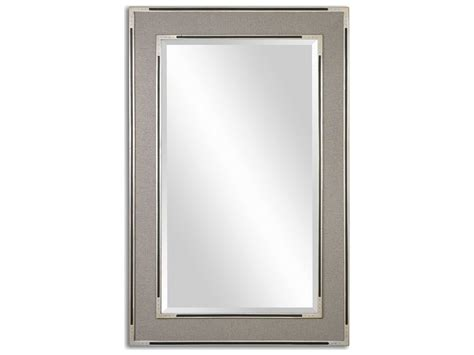 Uttermost Alfred 41 X 61 Oversized Gray-tan Wall Mirror