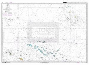 Admiralty Chart 4654 Tahiti To Iles Marquises Todd