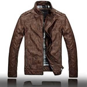 Vintage Brown Leather Motorcycle Jacket