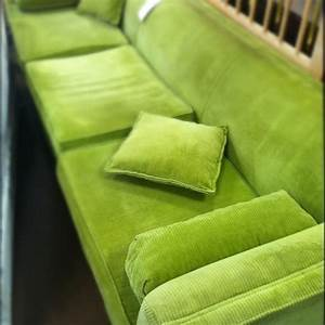a green corduroy couch things for my living space With green corduroy sectional sofa