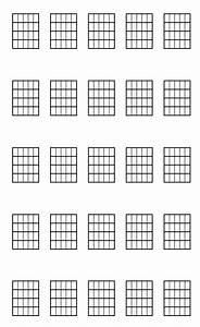 Tablature Vierge Pour Guitare  U00e0 Imprimer