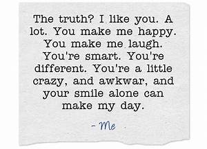 I Like You Alot Quotes | www.imgkid.com - The Image Kid ...
