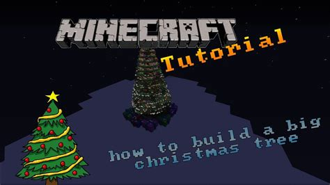 how to make a big christmas tree minecraft how to build a big tree special