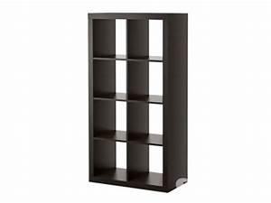 Bibliothèque Meuble Ikea : meuble brun noir ikea clasf ~ Dallasstarsshop.com Idées de Décoration