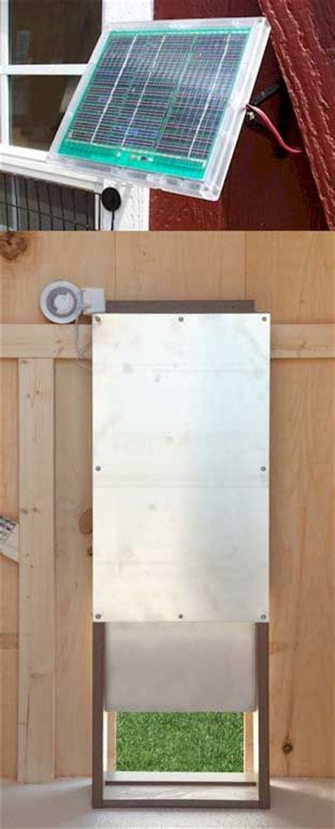 solar chicken door dewa coop where to get diy solar powered chicken coop door
